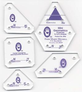 Набор шаблонов Мини геометрик сет N MM8956