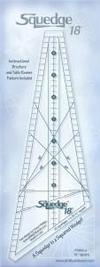 Линейка для квадратных барджелло 18 градусов SQ18