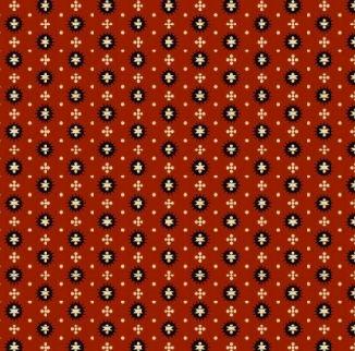 Круглые колючки на кирпичном 0289-0111