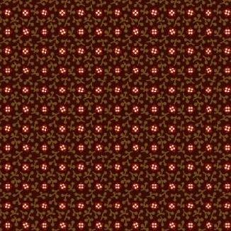 Красные квадратики на темно-коричневом 0291-0113