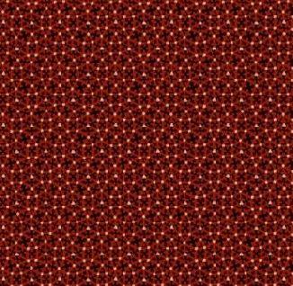 Черно-красные круги 0292-0111