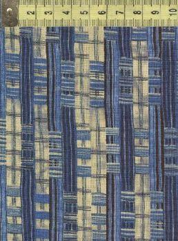 Ашантэ рогожка синяя 0506-2