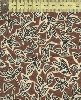 Ашантэ коричневые листья 0507-1