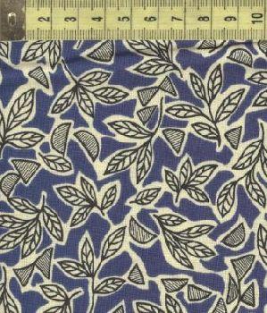 Ашантэ листья синие 0507-2
