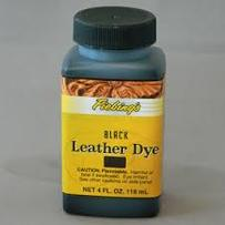 LEATHER DYE-BLACK Черная 250 мл