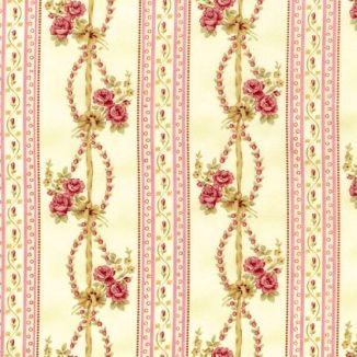 Плетенные розы полосы розовые 1863-002