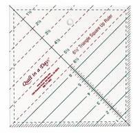 Линейка 6 1/2  дюйма Triagle square up ruler
