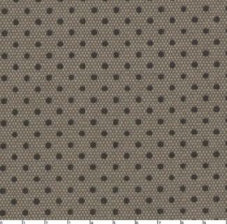 Коричневый горох на очень мелком т. бежевом ромбе 30204-05