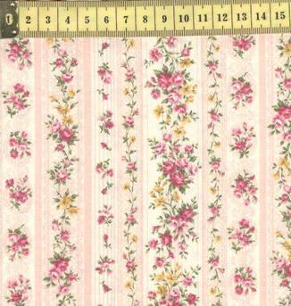 Мелкие розочки полосы pink