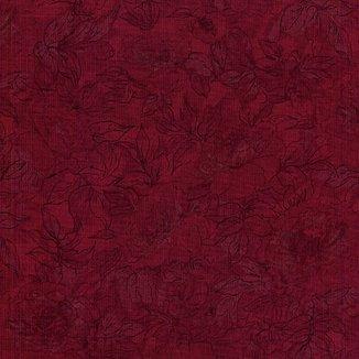 Плетистая роза на бордовом 7132-28