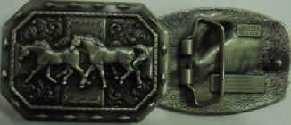 "Пряжка ""Табун лошадей"" 76204-60"