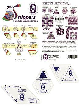 Набор шаблонов для шитья из полос MM8059