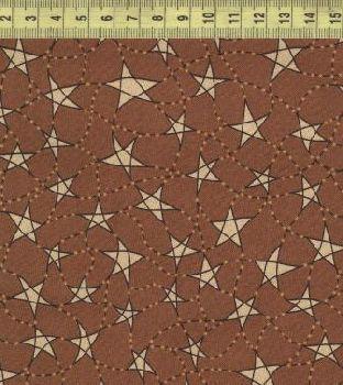 От звезды к звезды коричневый фон