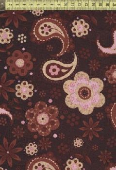 Брайтон пейсли и ромашки розовые BH7597-6