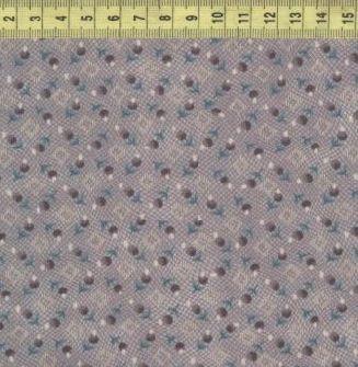 Мелкие цветы серые HG7603-98