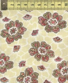 Пейсли цветы мульти и желтые W31546-5