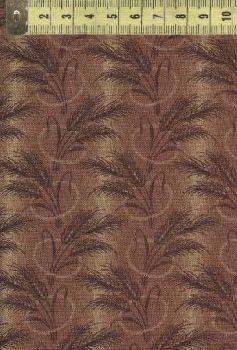Простые времена колоски с полосами на коричневом поле W31595-5