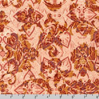 Розово-желтый узор 13543-169