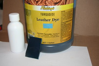 LEATHER DYE TURQUOISE Бирюзовый 100 мл