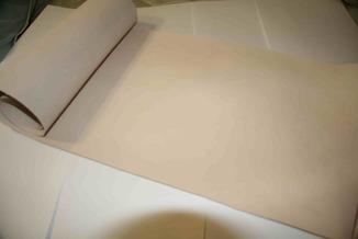 Платок кожи на подклад 1-1,2 мм 30*80 см сорт С