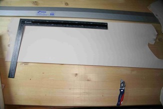 Платок кожи 2-2,3 мм 30*80 см сорт АB