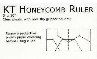 Линейка Honeycomb Ruler KT99904