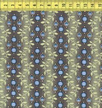 Синие капельки на зеленой волне 0210-0150