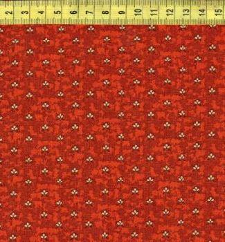 Мелкие цветочки на коричневом 0402-0128