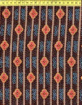 Полосы цветов на сине-коричневом N646-005