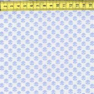 Мелкие сереневые цветочки на светло-сером ф. 506-025
